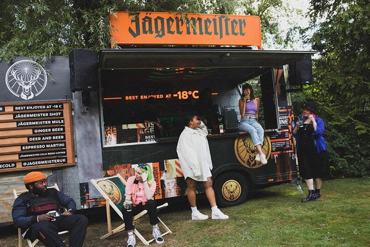 Jägermeister: vehicles can be booked for garden parties