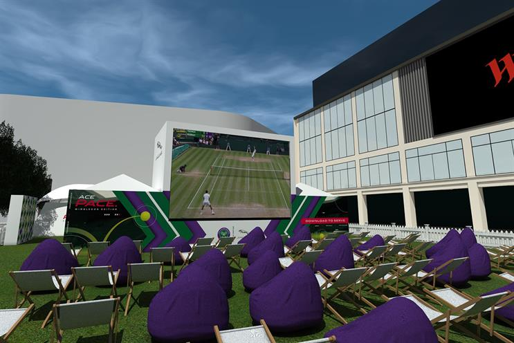 Jaguar: fan zone contains 360-degree experience