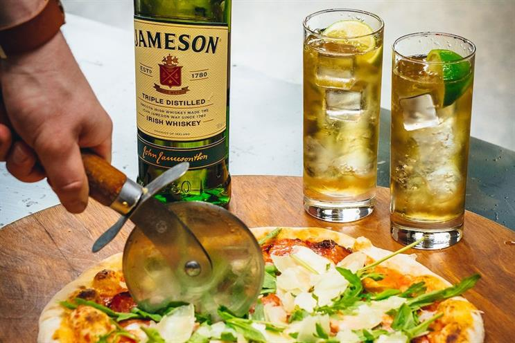 Jameson: ingredients will be delivered ahead of the experience