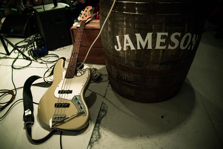 Jameson: artists will perform a 20-minute set