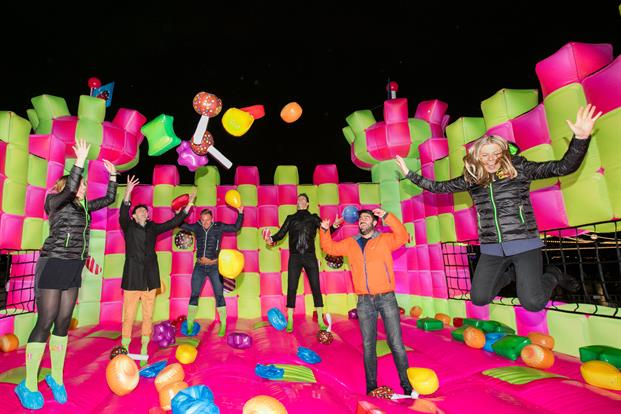Jack Morton was behind the multi-sensory Candy Crush castle in London in March