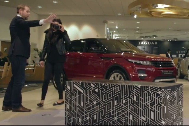 Jaguar Land Rover: offers augmented reality car tours