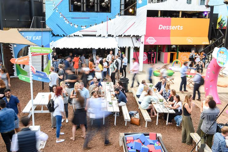 Just Eat: food festival contains taste trails