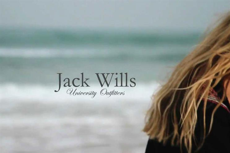 Jack Wills: appoints Havas Work Club