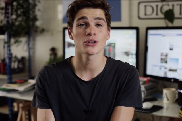 Jack Harries: the YouTube star has been signed up by Marriott