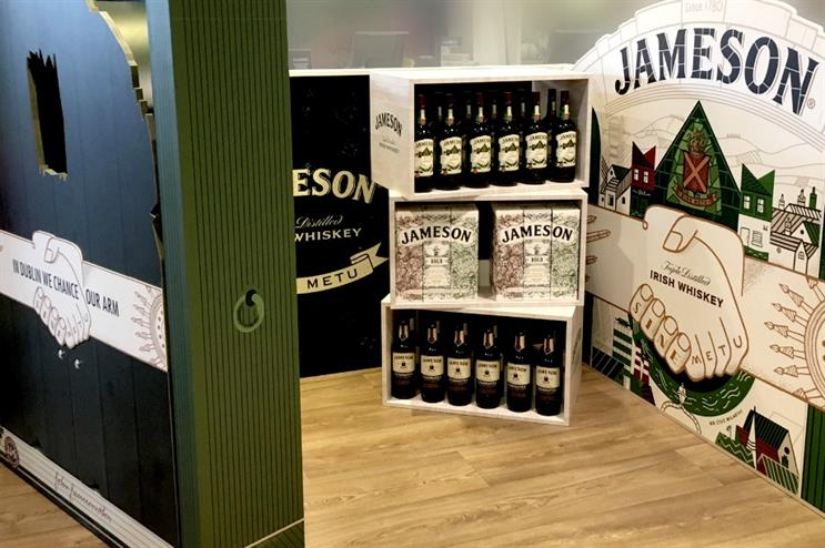 Jameson celebrates St Patrick's Day with airport activation