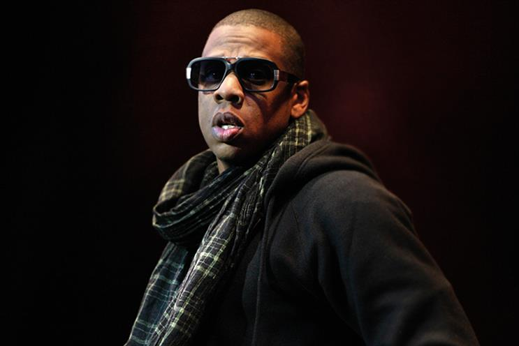 Jay Z: he owns music streaming site Tidal
