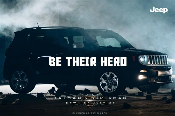 Jeep's Renegade model will be at the heart of the experience (@Jeep_UK)