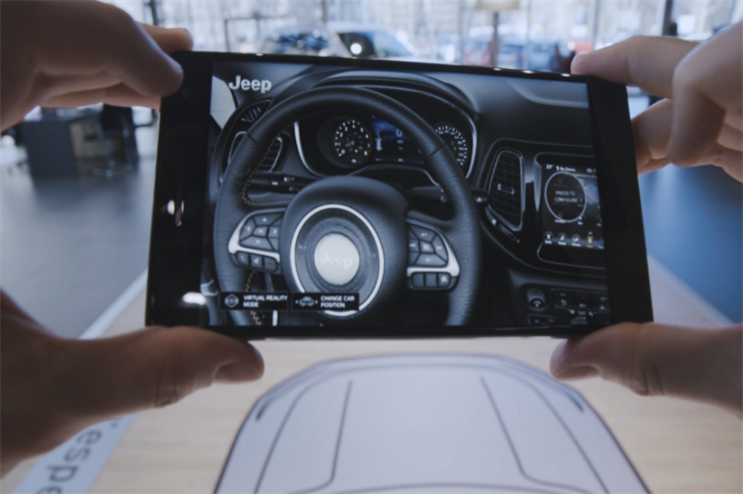 Jeep: augmented reality experience goes live in dealerships