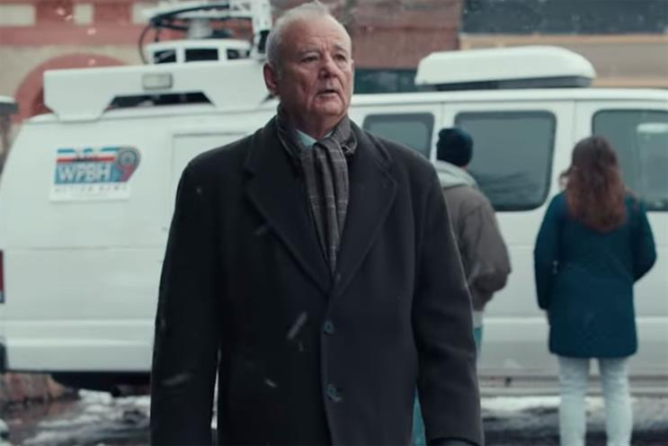 Jeep: Murray stars in Groundhog Day tribute