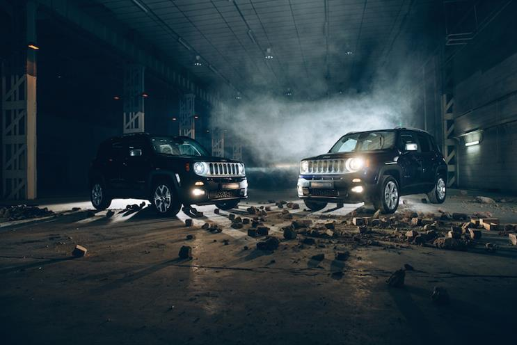 Jeep UK: Batman v Superman campaign