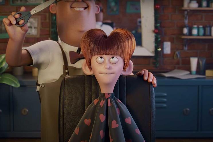 John Lewis Partnership: ad uses variety of animation styles