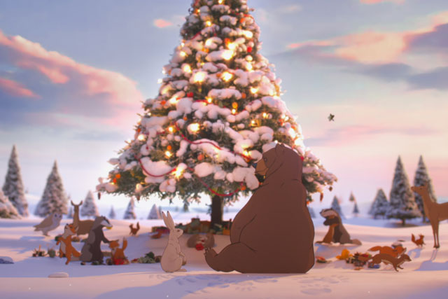 John Lewis: the only Christmas ad to feature in the most-shared chart