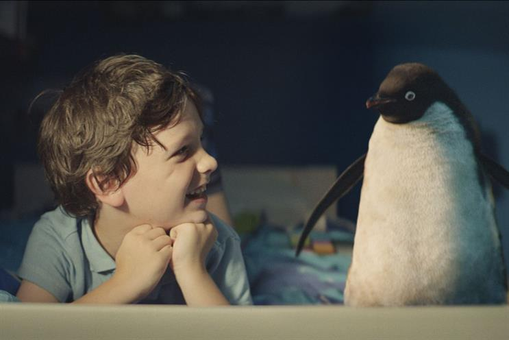 Monty the Penguin: John Lewis's 2014 Christmas campaign