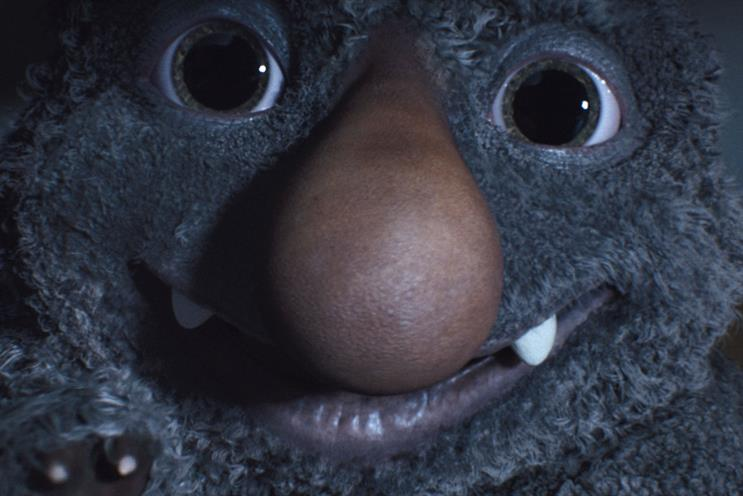 Resultado de imagem para Brittaney Kiefer John Lewis reveals Christmas ad with a friendly monster under the bed
