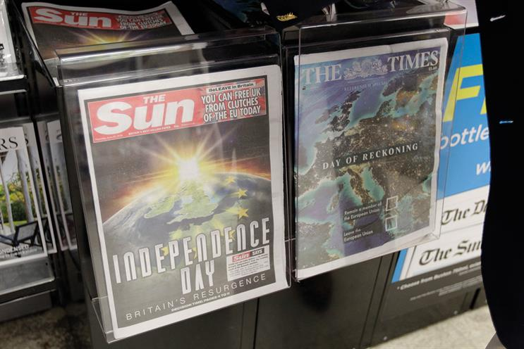 News UK: considering 'every option' amid declining print market