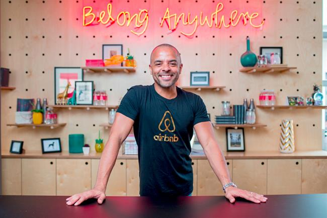 Airbnb's Jonathan Mildenhall reveals his big career break