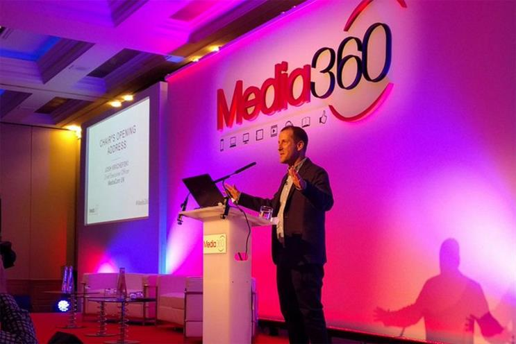 Josh Krichefski, UK CEO of MediaCom, chaired the panel of marketers and media owners