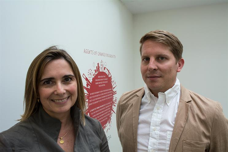 James Shepherd (right): joins as head of media and will report to Julia Jordan