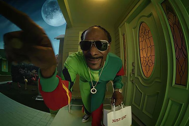 Just Eat: 2020 campaigns starred Snoop Dogg