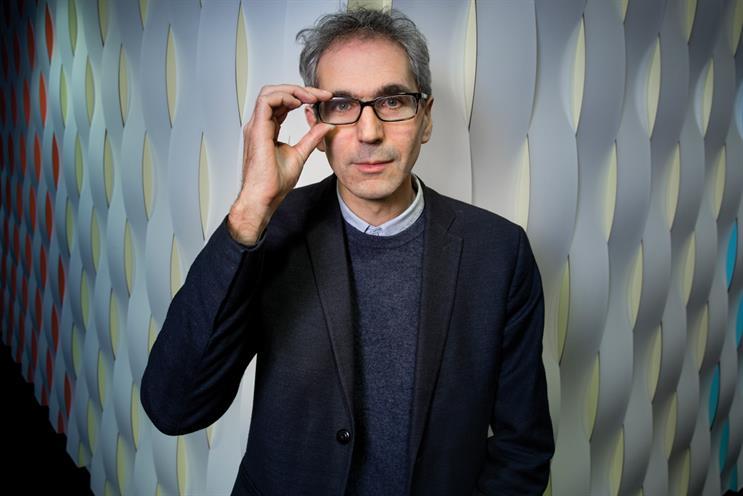 Justin Bairamian: hiring A&E/DDB's Simon and McClure reflects his goal of giving BBC Creative 'an agency sensibility'