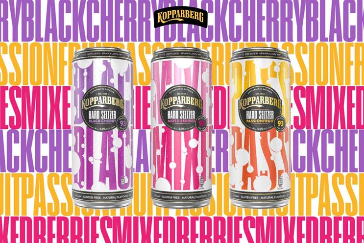 Kopparberg: hard seltzer is the latest new prouct area for the brand