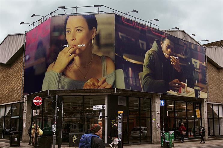 KFC: campaign focuses on post-KFC finger-lick