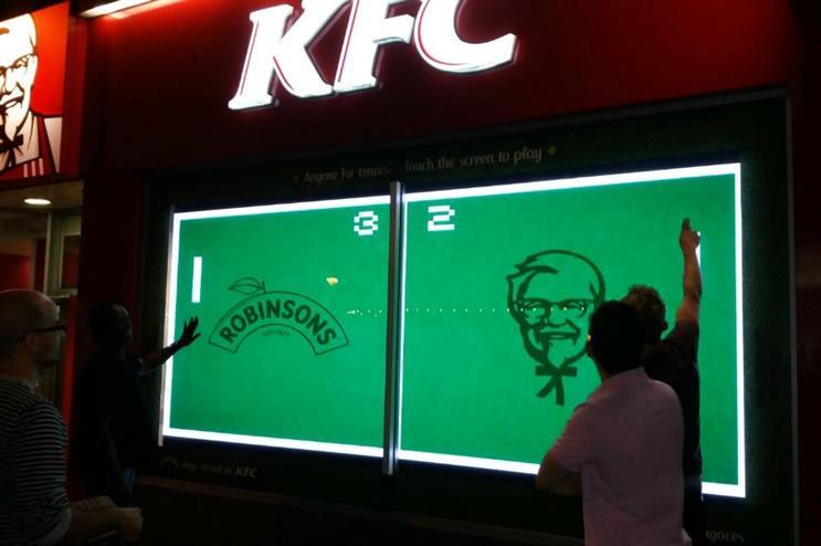 Robinsons and KFC team up to celebrate Wimbledon
