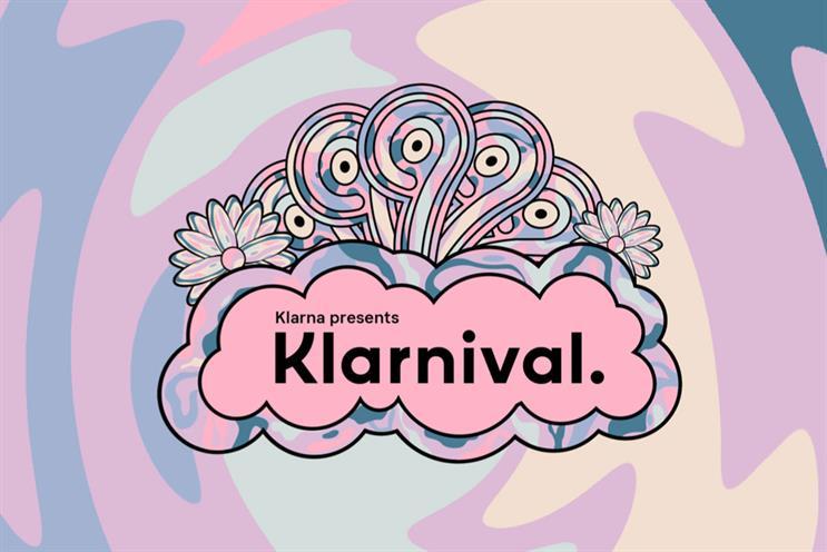 Klarna: event will be broadcast via Instagram and Facebook Live
