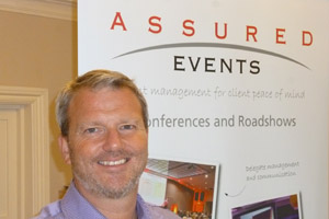 Assured Events managing director Karl Perry forecasts growth