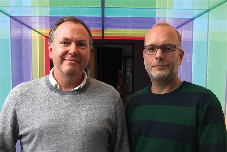 Kean (l) and Whitaker: joining Karmarama