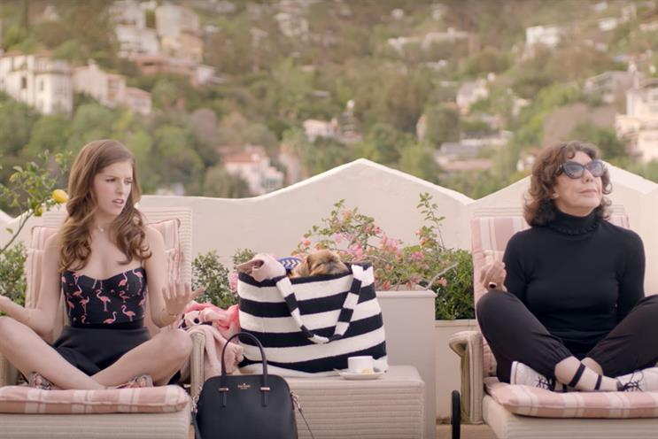 Designer Kate Spade worked with Anna Kendrick for its shoppable video series, #missadventures