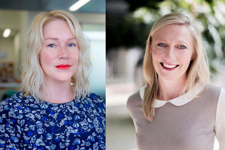 From left: Kelly Howe, head of PR, marketing & digital at Career Moves Group & Ellen Johnson, head of marketing & communications at Comic Relief