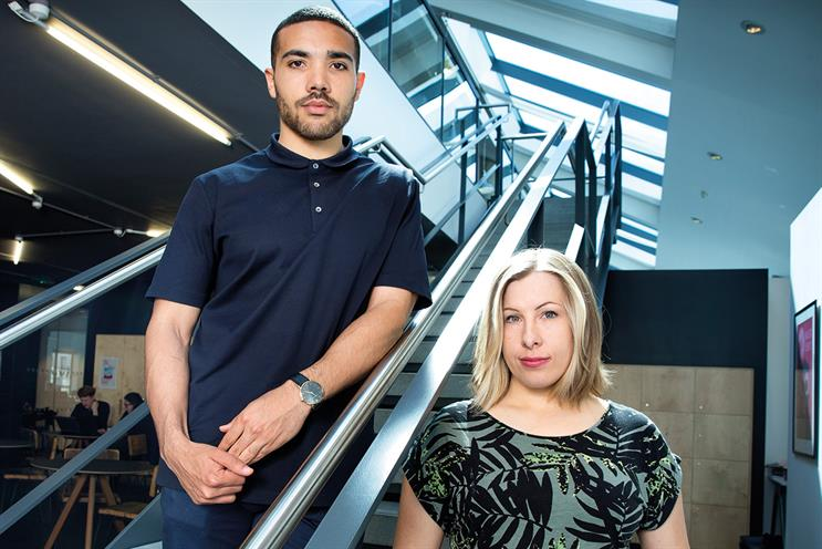Kennedy and Ashford: two of eight new creative recruits
