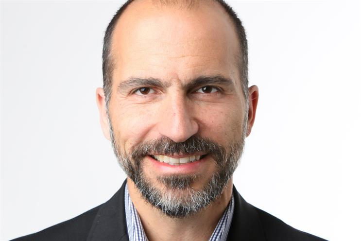 Uber chief executive Dara Khosrowshahi