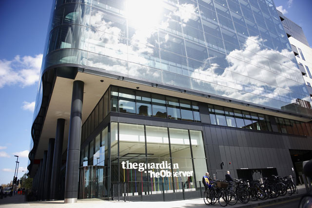 Guardian News & Media: publisher's earnings show marked improvement