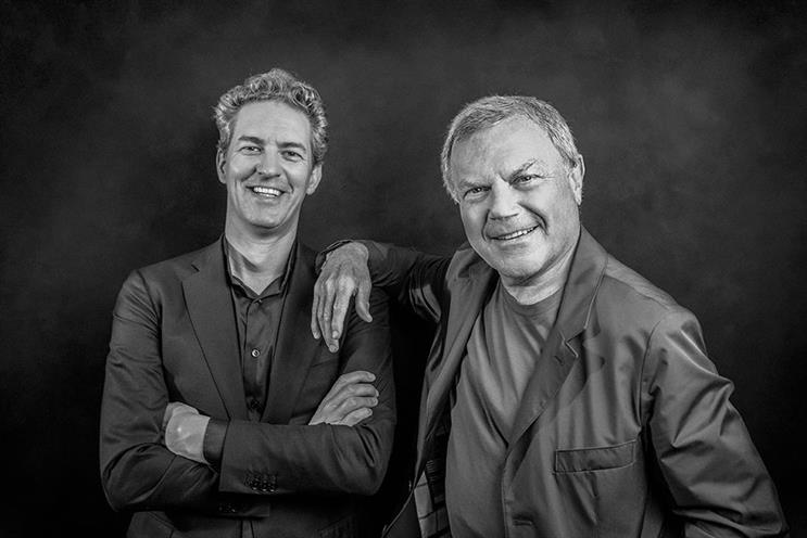 S4 Capital: Sorrell (r) with MediaMonks chief executive Victor Knaap