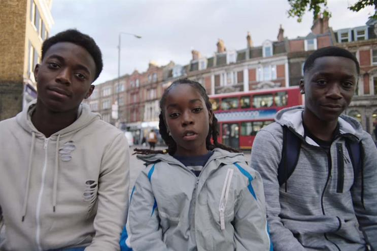 AMV BBDO creates anti-knife crime campaign for Mayor of London