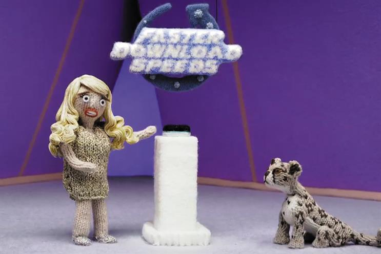 BT was among the brands that participated in ITV's knitted ad break