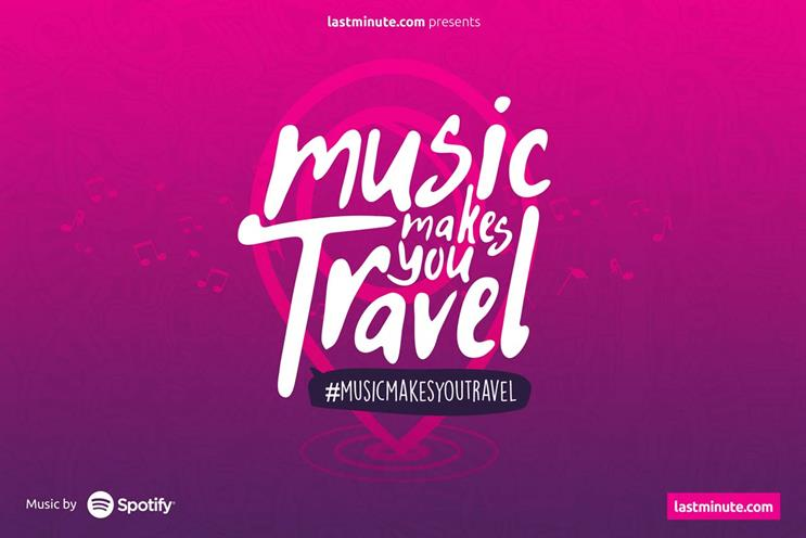 Lastminute.com teams up with Spotify to soundtrack travel adventures