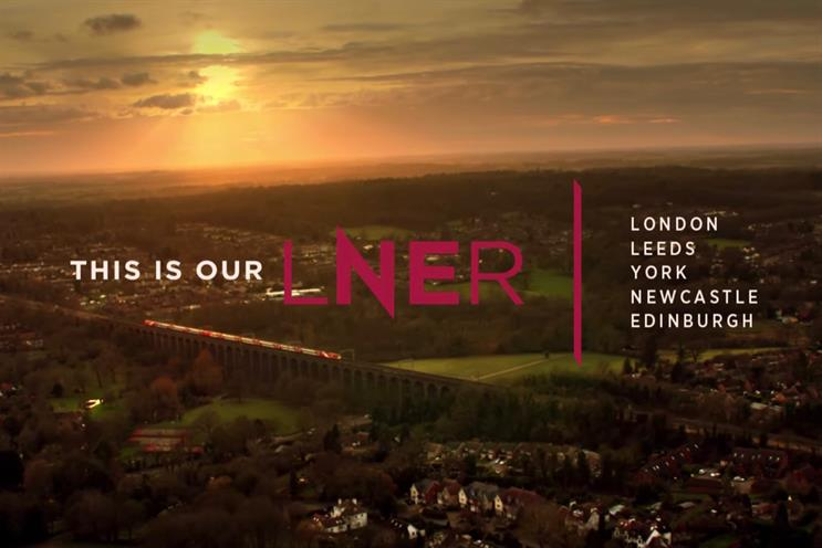 LNER: latest ad was created by Anomaly