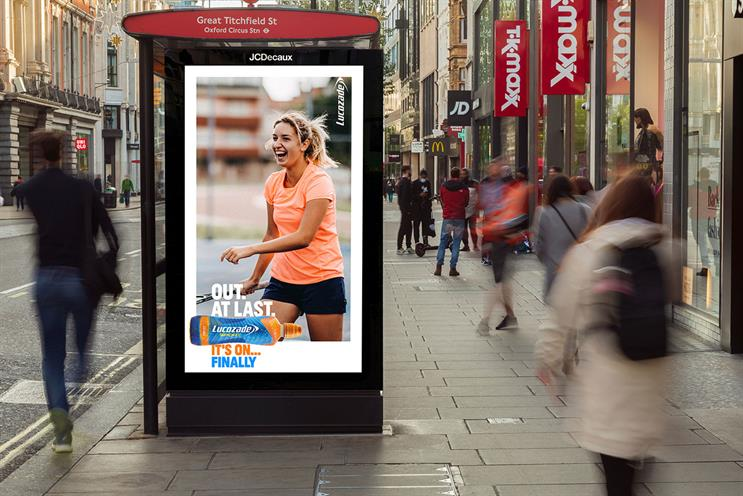 Retail: JCDecaux digital screens on London's Oxford Street