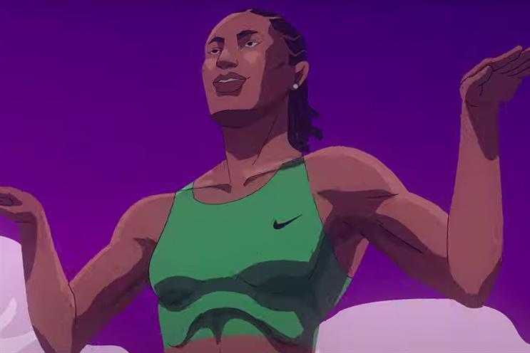 Lux: Caster Semenya animated for the spot