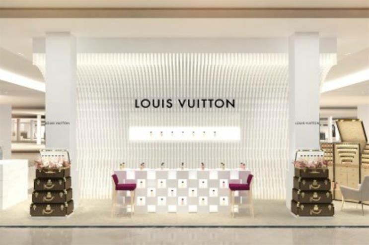 Louis Vuitton: perfume pop-up from Paris