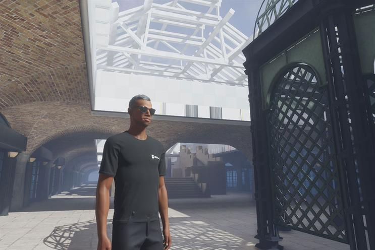 Tobacco Dock: virtual space is a recreation of the London venue
