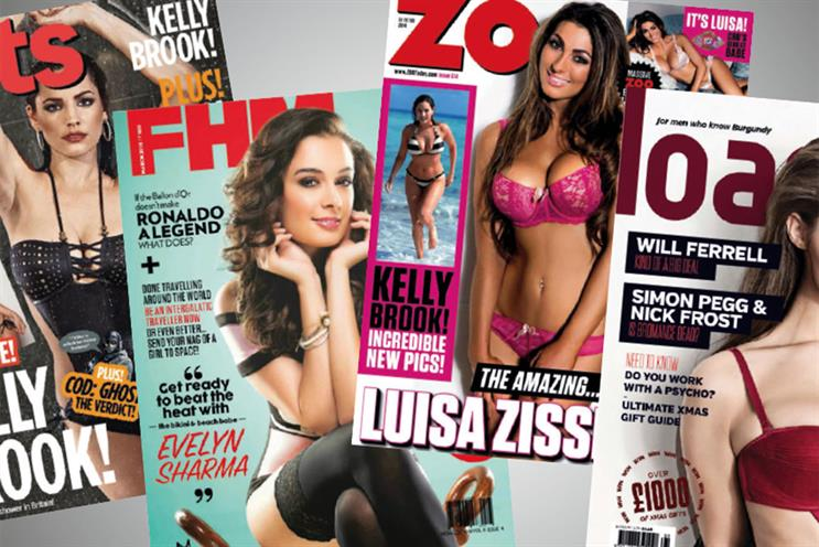Lads' mags paid for not following readers online