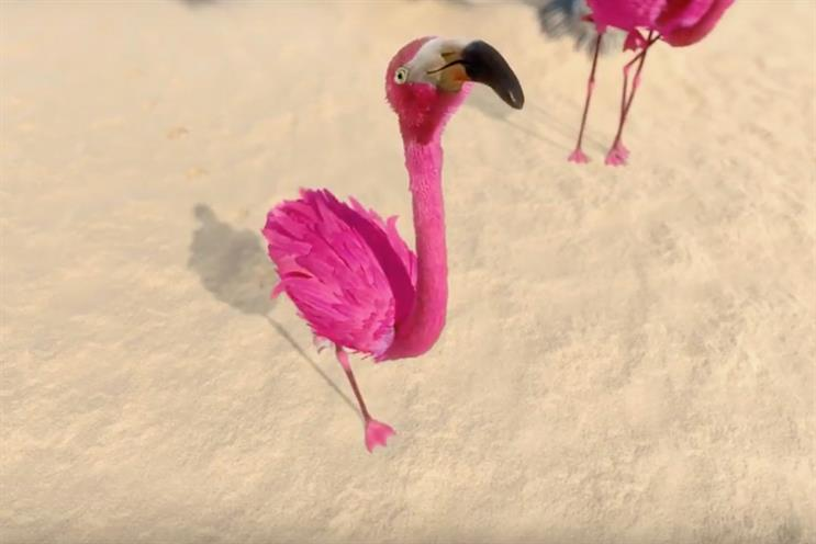Lastminute.com launches flamingo ads for 'Whatever makes you pink' campaign