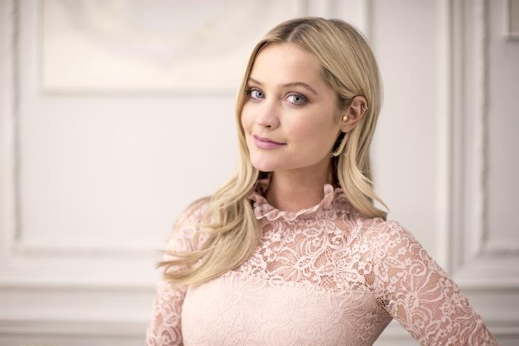 First Choice: TV presenter Laura Whitmore fronted the ad