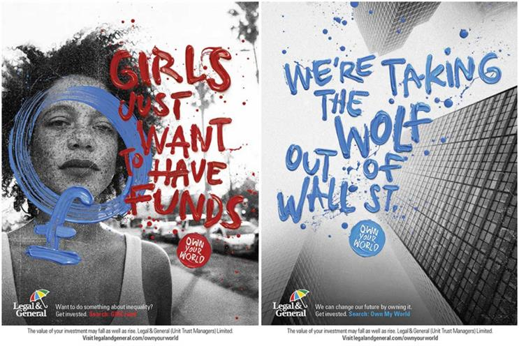 Legal & General: recent campaign aimed to empower people
