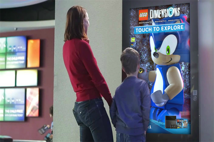 Warner Bros: touchscreen activity for Lego Dimensions